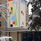 Mural Vizija Beograd 11m, 3.12.2017.