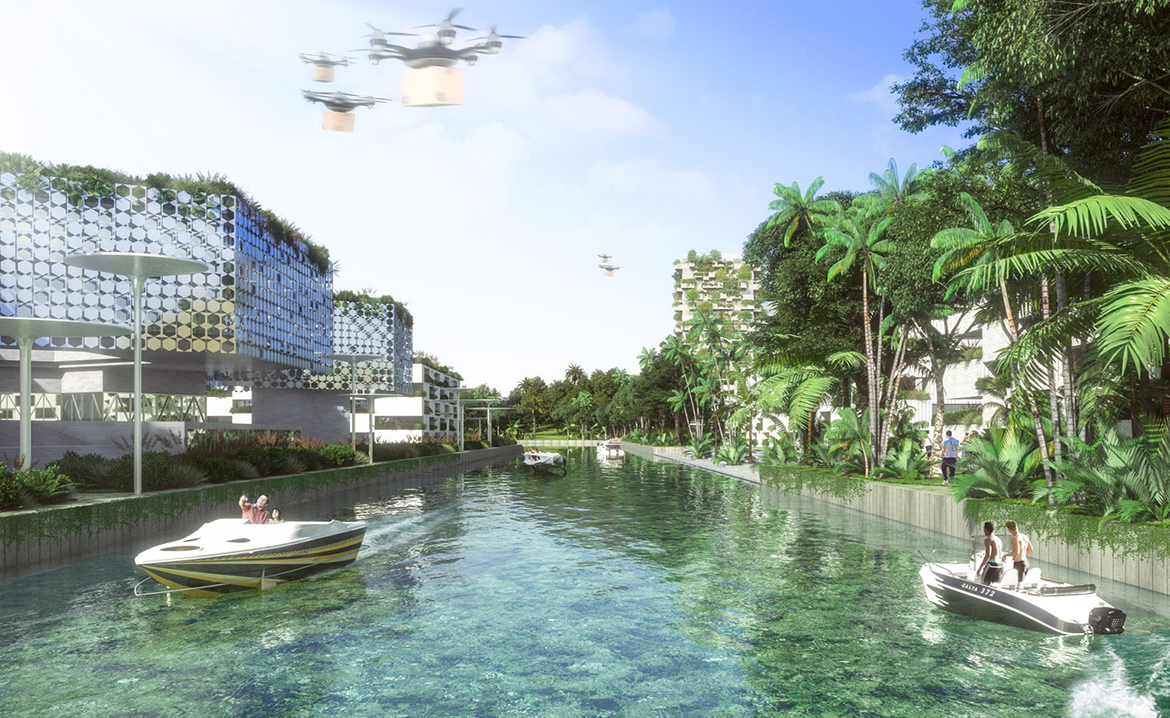 Smart forest city 5
